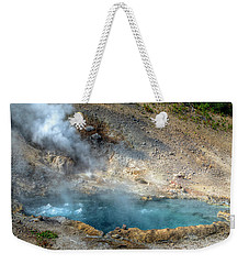Beryl Hot Springs, Ynp Weekender Tote Bag by Greg Sigrist