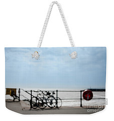 Weekender Tote Bag featuring the photograph Beside The Seaside #6 by Jan Bickerton