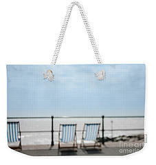Weekender Tote Bag featuring the photograph Beside The Seaside#5 by Jan Bickerton