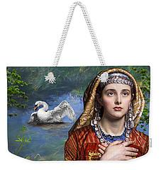 Beside The Swan Weekender Tote Bag