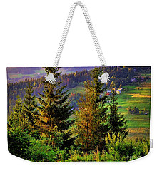 Weekender Tote Bag featuring the photograph Beskidy Mountains by Mariola Bitner