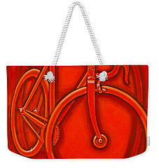 Bespoked In Orange  Weekender Tote Bag
