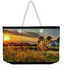Weekender Tote Bag featuring the photograph Bessie by Mark Fuller