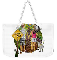 Best Days Lie Ahead Weekender Tote Bag
