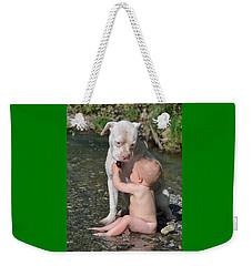 Best Friends Weekender Tote Bag