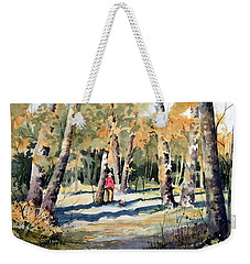 Walking With A Friend Weekender Tote Bag