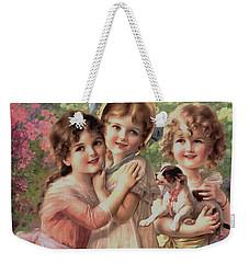 Best Of Friends Weekender Tote Bag
