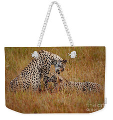Best Of Friends Weekender Tote Bag by Nichola Denny
