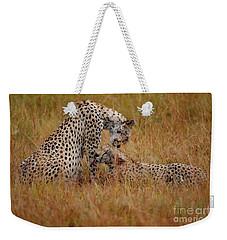 Best Of Friends Weekender Tote Bag by Nichola Denny