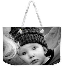 Weekender Tote Bag featuring the photograph Best Seat In The House by Barbara Dudley
