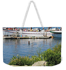 Best Seats In Bar Harbor Maine Weekender Tote Bag