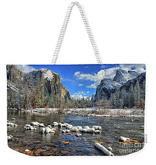Best Valley View Yosemite National Park Image Weekender Tote Bag