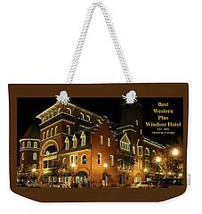 Best Western Plus Windsor Hotel - Christmas -2 Weekender Tote Bag