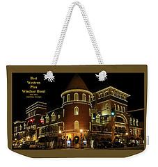 Best Western Plus Windsor Hotel - Christmas Weekender Tote Bag
