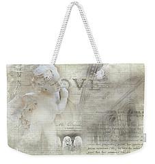 Bethesda Cherub Weekender Tote Bag by Evie Carrier