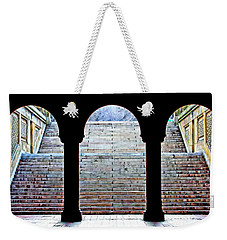 Bethesda Terrace Arcade Weekender Tote Bag by Suzanne Stout