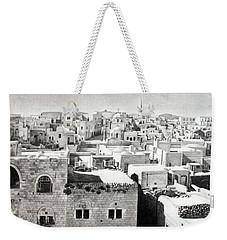 Bethlehem Old Town Weekender Tote Bag