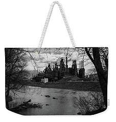 Bethlehem Steel Bw Weekender Tote Bag