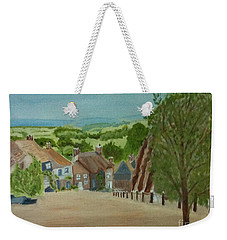 Gold Hill, Shaftesbury Dorset S W England Weekender Tote Bag