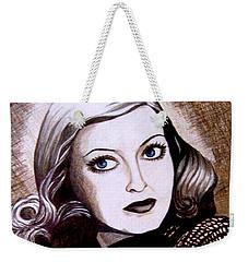 Bette Davis 1941 Weekender Tote Bag
