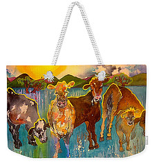 Better Cows Weekender Tote Bag