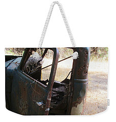Weekender Tote Bag featuring the photograph Better Days by Marie Neder