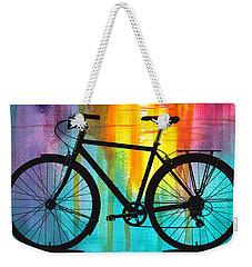 Better On A Bike Weekender Tote Bag