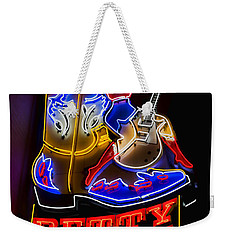 Betty Boots Weekender Tote Bag by Stephen Stookey