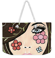 Betty - Contemporary Woman Weekender Tote Bag