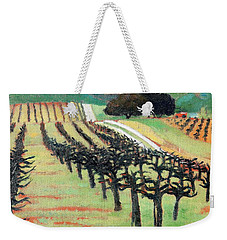 Between Crops Weekender Tote Bag