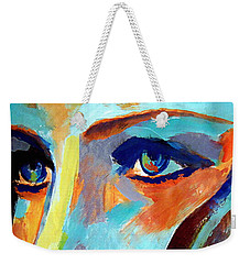 Between Herself And The World Weekender Tote Bag