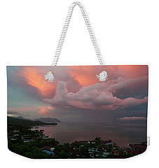 Between Rainstorms Weekender Tote Bag