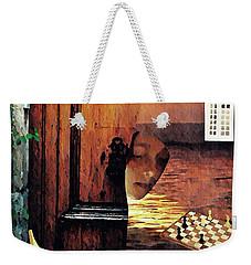 Between Weekender Tote Bag by Sarah Loft
