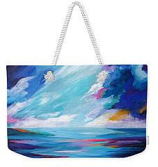 Between The Clouds Weekender Tote Bag