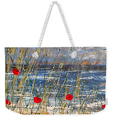 Between The Crosses Detail Weekender Tote Bag