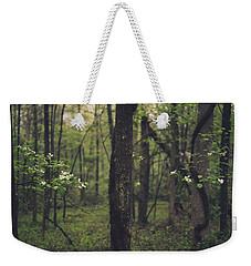 Between The Dogwoods Weekender Tote Bag by Shane Holsclaw