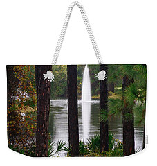 Between The Fountain Weekender Tote Bag