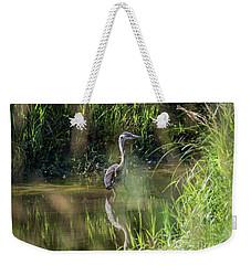 Between The Grass Weekender Tote Bag by Rod Wiens