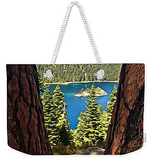 Between The Pines Weekender Tote Bag