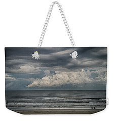Weekender Tote Bag featuring the photograph Between The Storms by Judy Hall-Folde