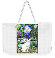 Between The Trees Weekender Tote Bag