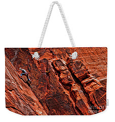 Between Two Cliffs Weekender Tote Bag
