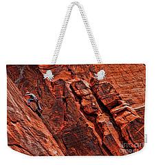 Between Two Cliffs Weekender Tote Bag
