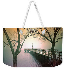 Between Two Trees Weekender Tote Bag by Tara Turner