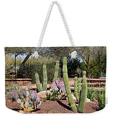 Weekender Tote Bag featuring the photograph Between Walls by Kathryn Meyer