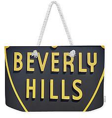 Beverly Hills Sign Weekender Tote Bag