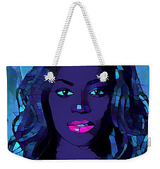 Beyonce Graphic Abstract Weekender Tote Bag by Dan Sproul