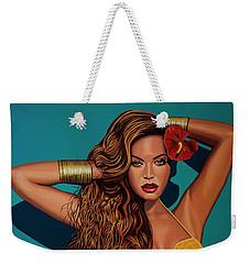 Beyonce 2 Weekender Tote Bag by Paul Meijering