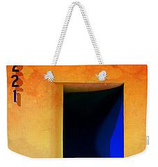 Beyond Blue 221 Weekender Tote Bag by Barbara Chichester