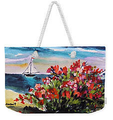 Beyond Sea Roses Weekender Tote Bag